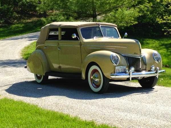 Rare classic 1939 ford deluxe sedan convertible auto for 1939 ford deluxe 4 door sedan