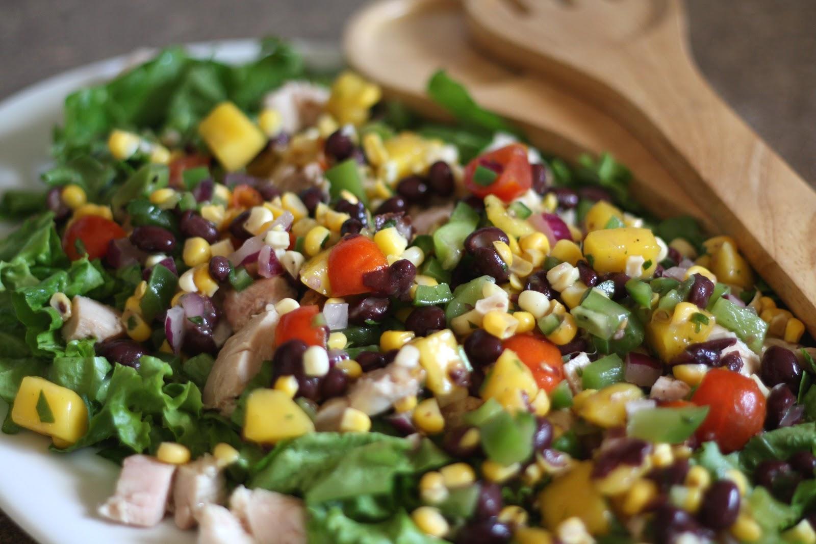Barefeet In The Kitchen: Mango Salsa Chicken Salad