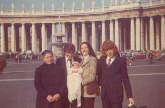 Battesimo a San Pietro