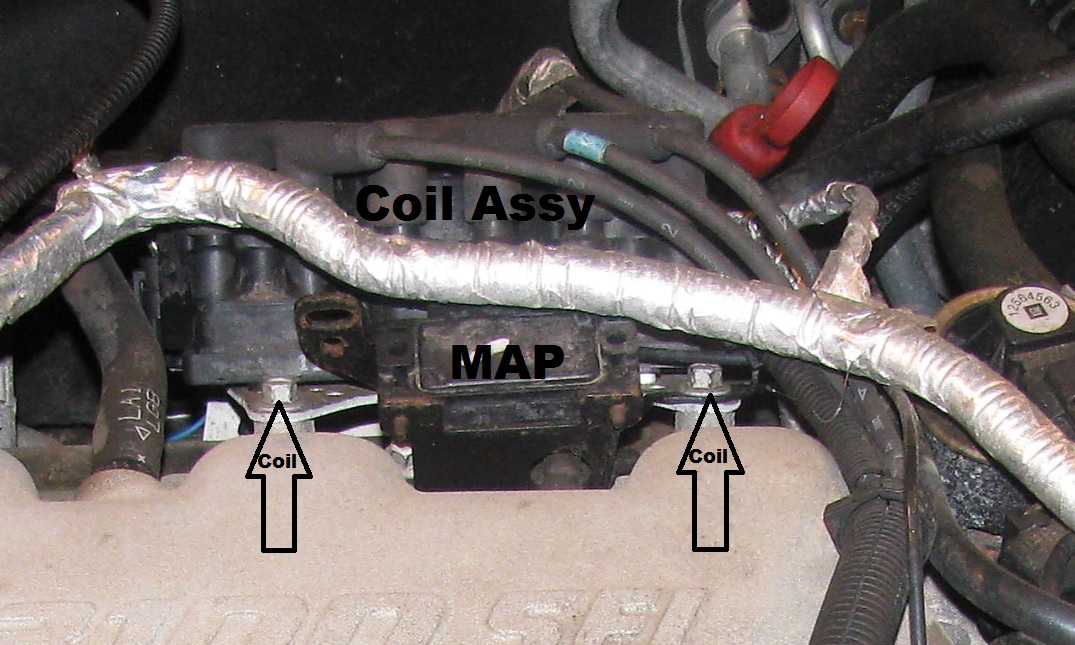 MAP%2Band%2Bcoil%2Bassy the original mechanic 3 1l engine (gm) replacing intake manifold