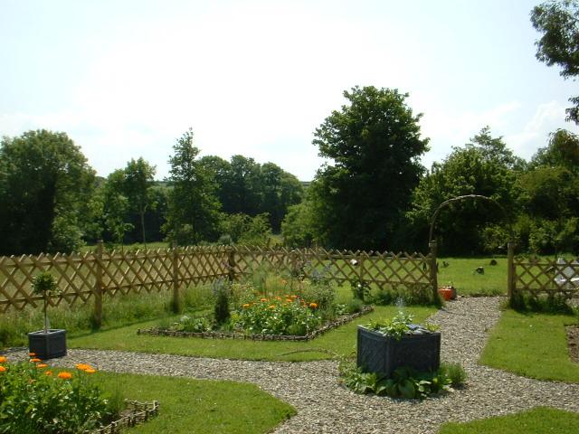 Medieval Garden Enclosed Party Invitations Ideas