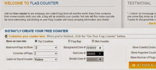 Gambar LogIn to Flag Counter