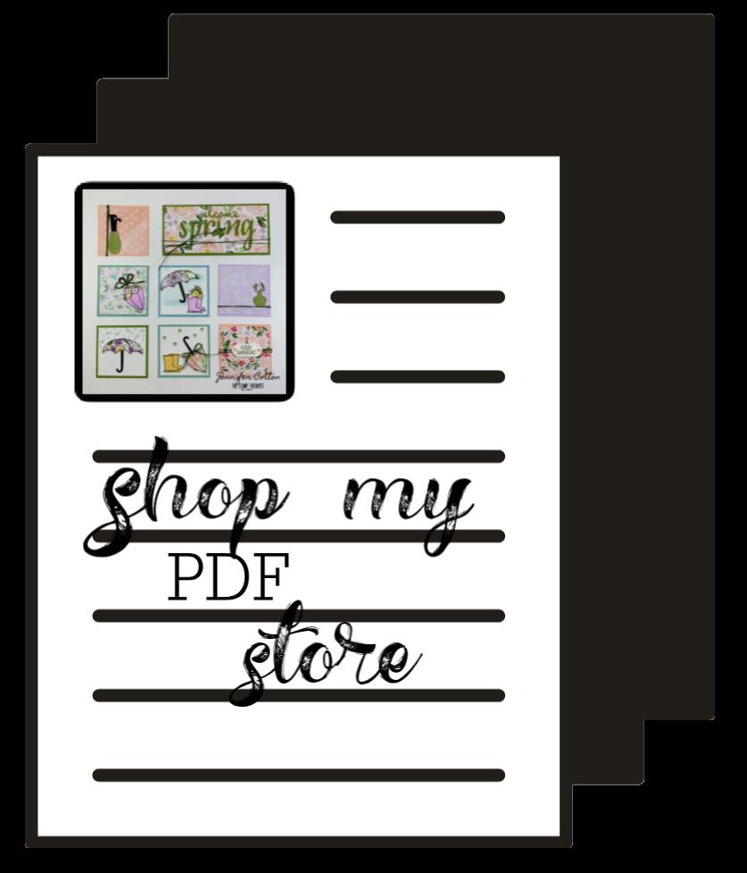 Shop my PDF store!
