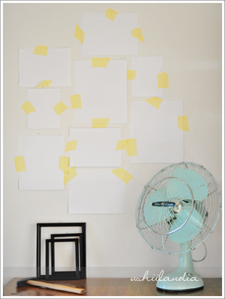 galeria ścienna - jak łatwo wieszać obrazy, ramki i inne / wall gallery - how to
