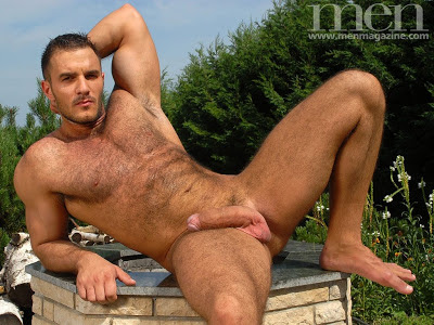 Black Latin And Hairy Ted Colunga
