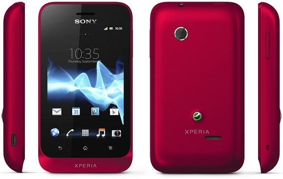 Red Sony xperia tipo