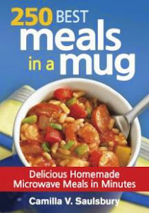 250 best meals in a mug cook book giveaway - Ends April 17th
