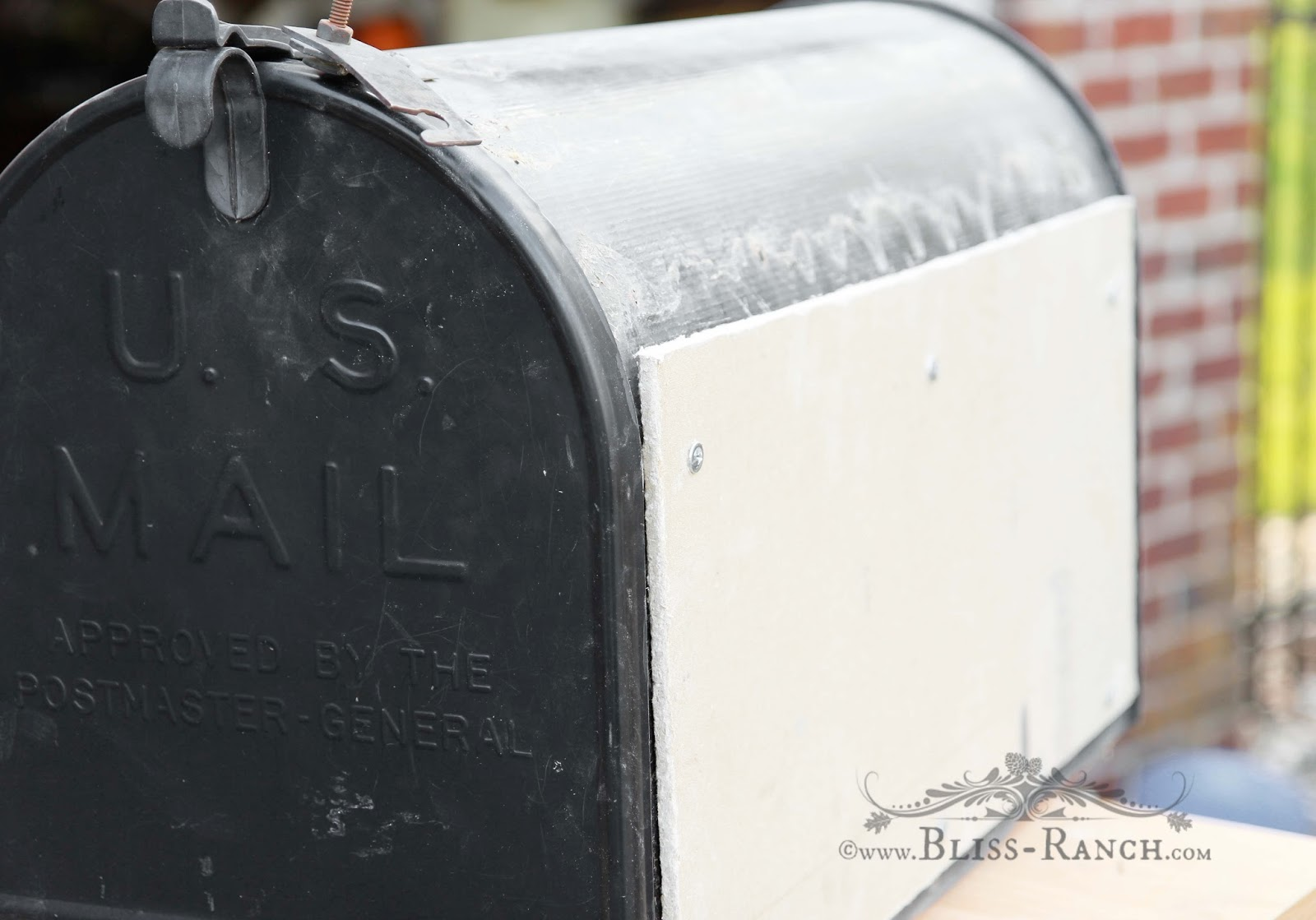 Mailbox Makeover Bliss-Ranch.com