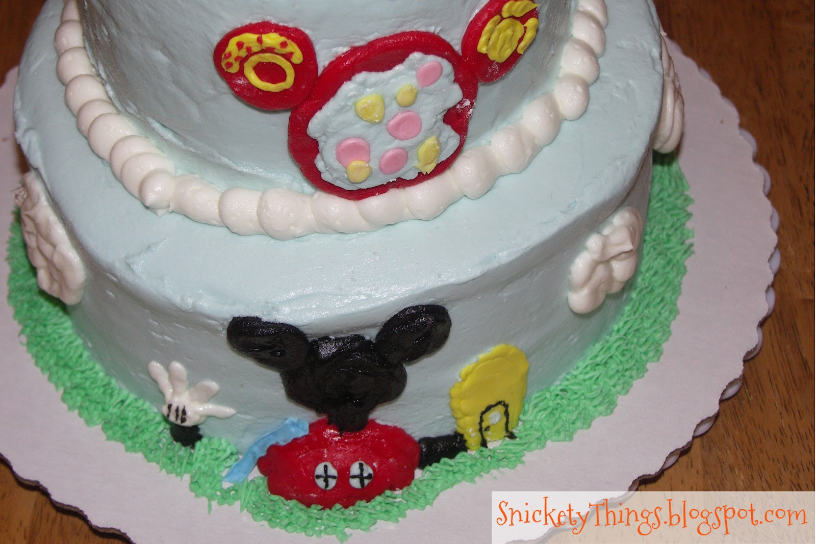 Snickety Things Adventures in cake Mickey Mouse Clubhouse