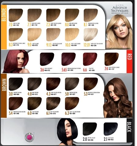 Ashlee\'s Avon: Avon Advance Techniques Professional Hair Color + ...