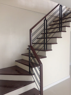 Stairs of House and Lot for Sale in Quezon City