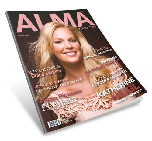 Revista ALMA (Mayo 2013) ESPAÑOL - Katherine Heigl, Madre y heroína