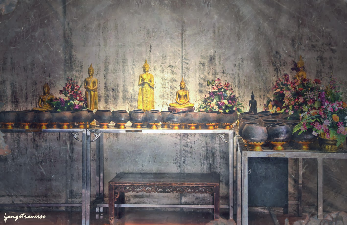 Temple à Bangkok, Thailande