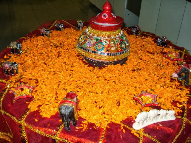 Navratri Celebrations At Work So Saree