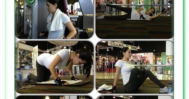 Koleksi Gambar Instagram Yasmin Hani di Gym dan membuat