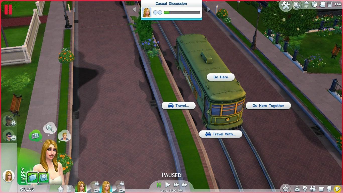 sims 4 tram