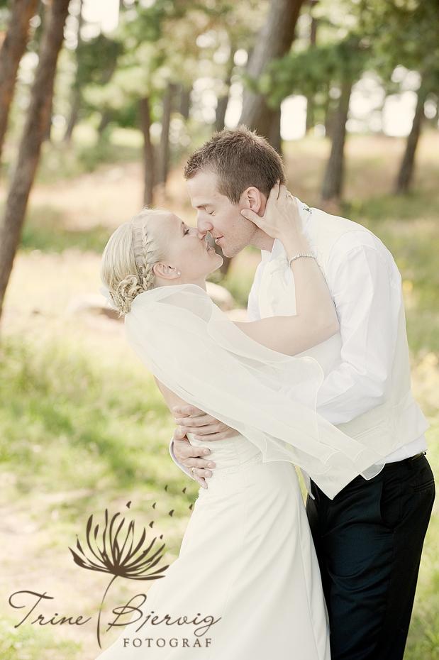 Bryllupsbilder fra Tønsberg, Bryllupsfotograf Trine Bjervig, Vestfold