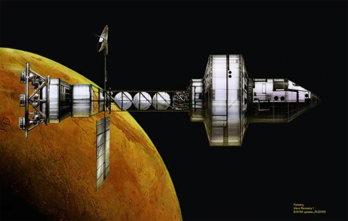 mission to mars concept art - photo #28