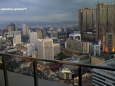 view on swiss garden high class elegant suite penthouse 33rd floor