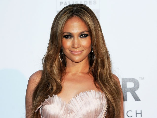 jennifer lopez hair color 2011 american idol. wallpaper Hair from Jennifer