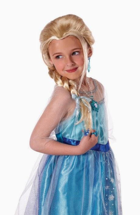 DISFRAZ - DISNEY Frozen - Peluca de Elsa para niña  Disfraces - Complementos & Accesorios  Jakks Pacific | De la película de DISNEY
