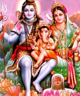 Shiv Shankar bhagwan,Parvatiji,Ganeshji