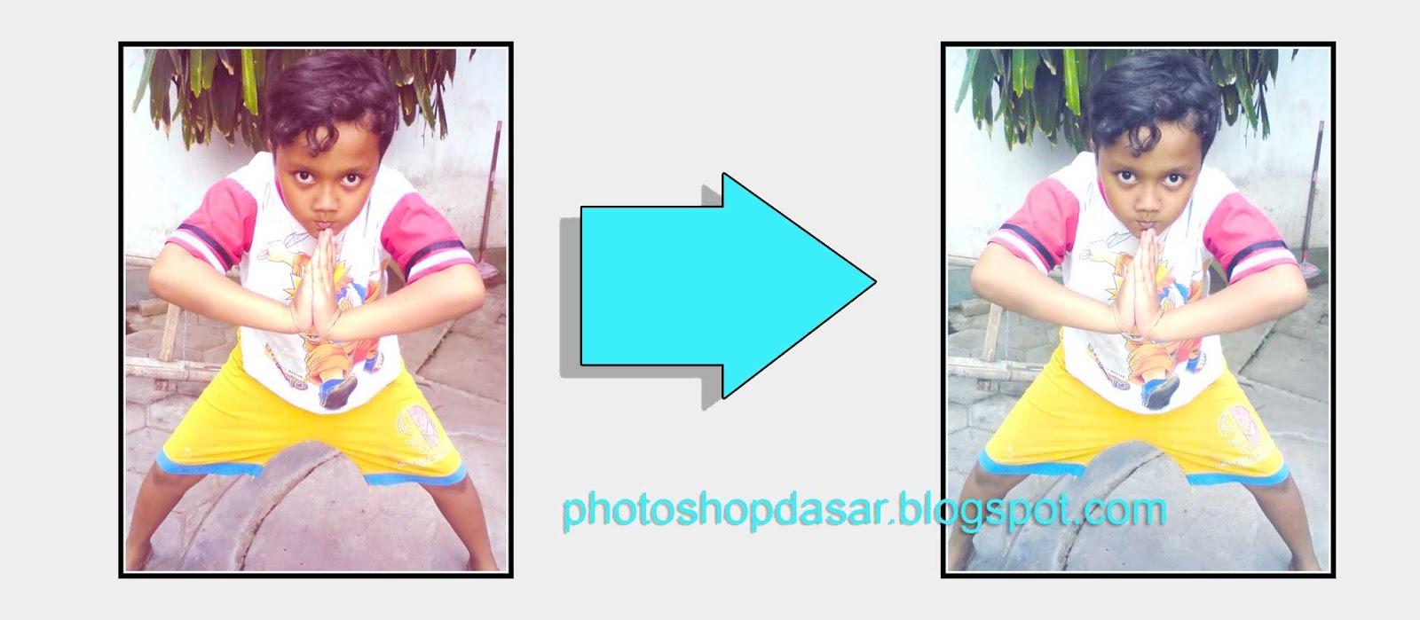 Cara mengedit foto kemerahan dengan photoshop