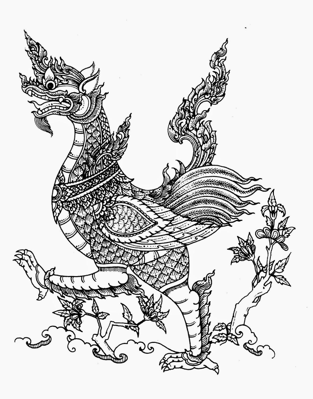 Thai Mythological Creatures Are Mishmashes Of Many