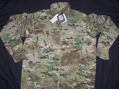 US Army Multicam  GEN III LEVEL 4 Wind Cold Weather Jacket ECWCS