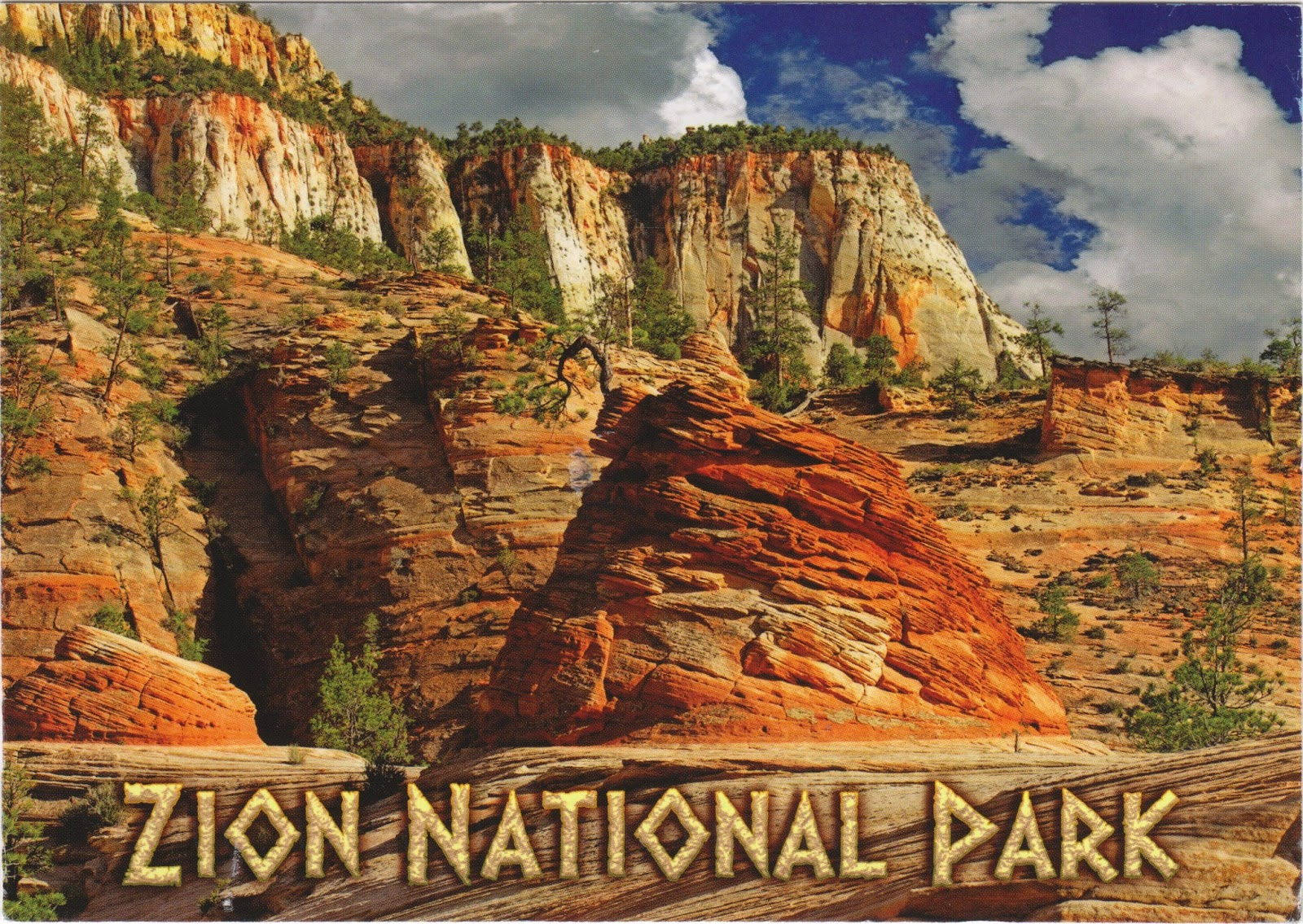 official zion national park