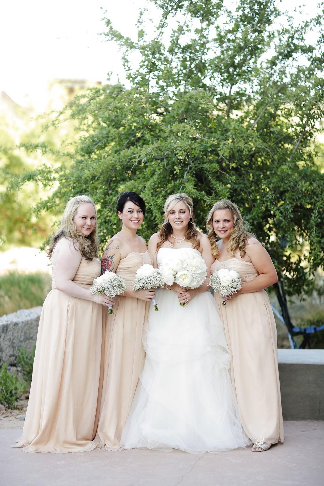 Bridesmaids in Las Vegas