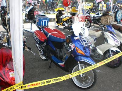Yamaha MIO sporty modif