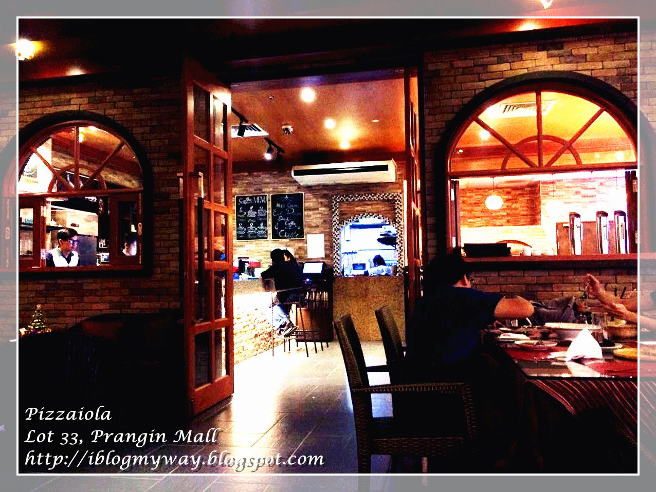 Pizzaiola Lot 33 Prangin Mall, Penang