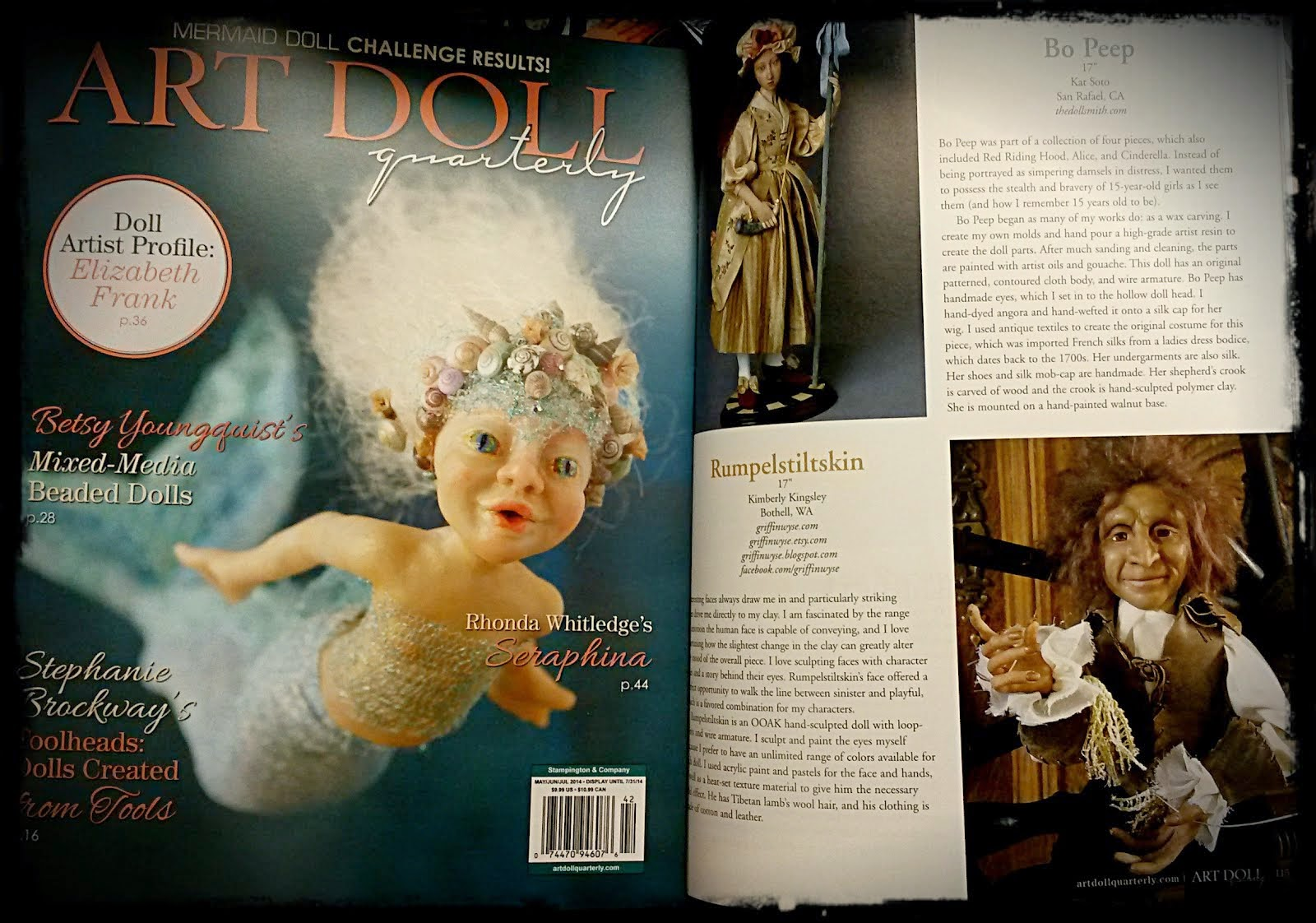 Art Doll Quarterly Summer 2014