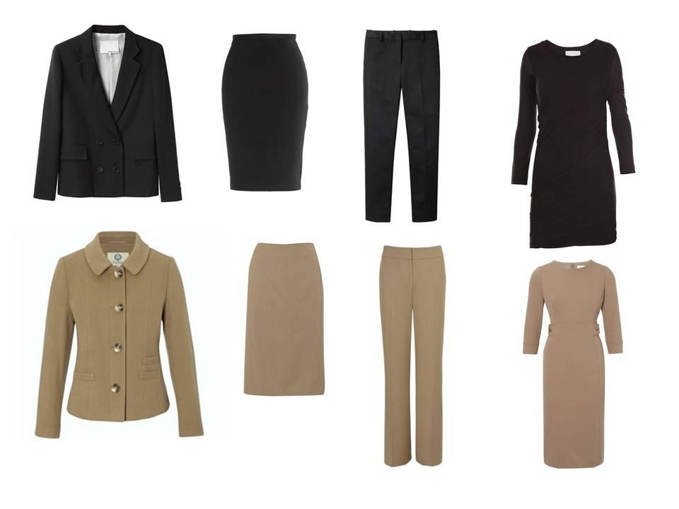 office wardrobe ideas. Black \u2013 3.1 Phillip Lim, Taupe Viyella Office Wardrobe Ideas O