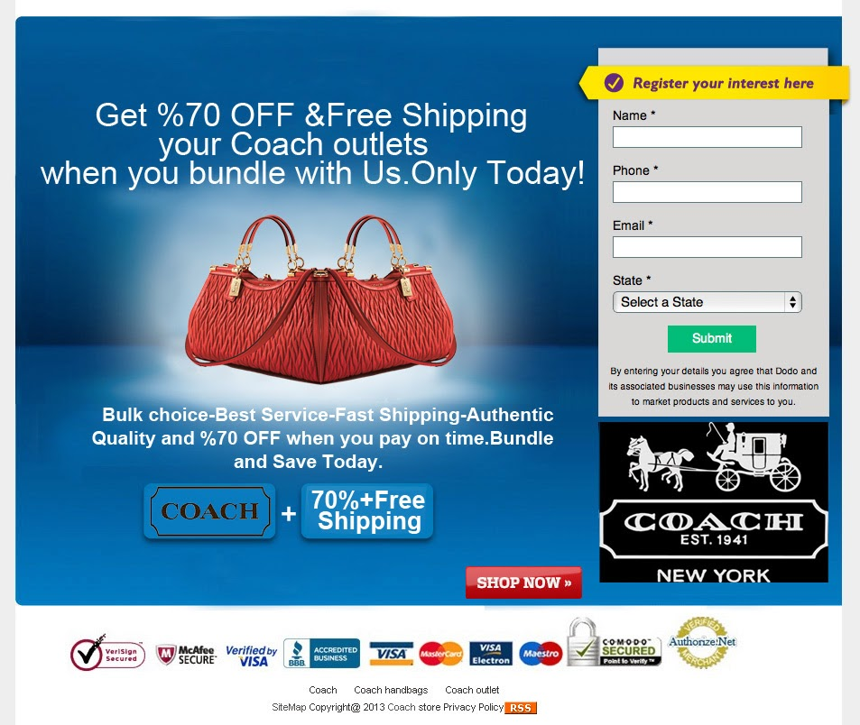Coach online shopping coupons