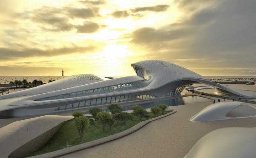ZaHa Hadid Design Bee'ah Headquarters in Sharjah, UAE