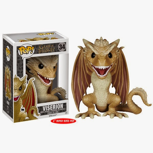 Game of Thrones Pop! Series 5 by Funko - Viserion