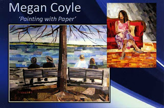 Megan Coyle Paper Collage Exhibit