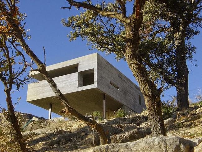 Casas minimalistas y modernas casa moderna en madrid - Casas modernas madrid ...