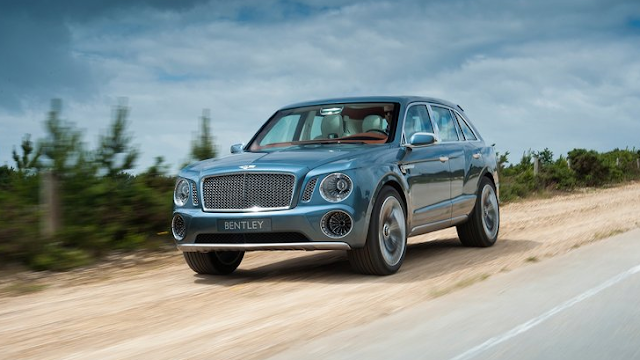 Render de la Bentley EXP 9F Concept