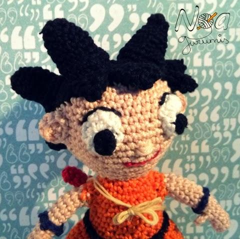 Amigurumi Dragon Ball Goku : Noagurumis - Blog de ganchillo: Kame Hame Ha: ??Son Goku!!