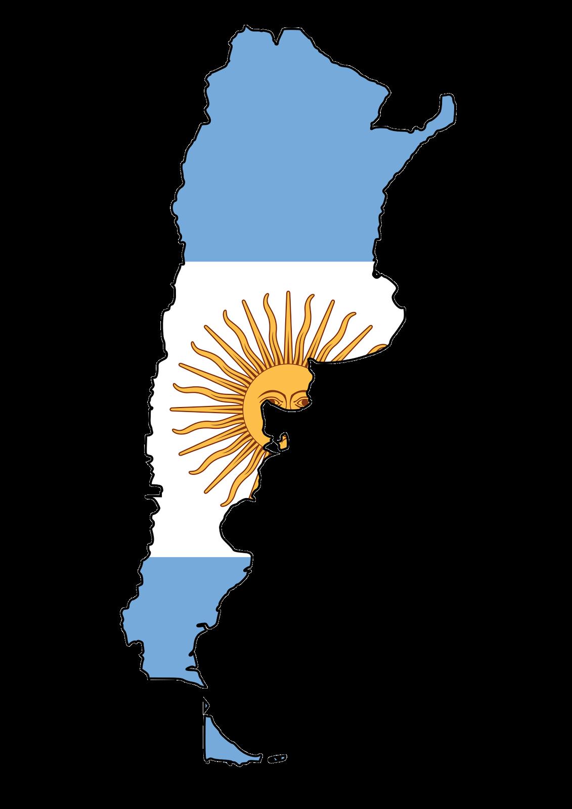 Argentina Flag/Map