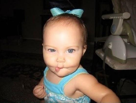 Gambar bayi gokil dan lucu editan