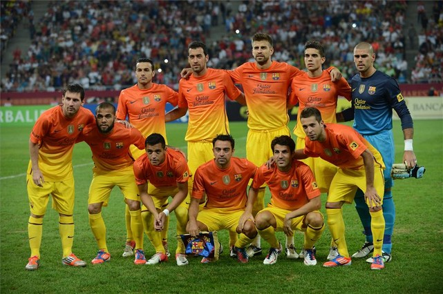 FC Barcelona vs Dynamo Bucharest 2012