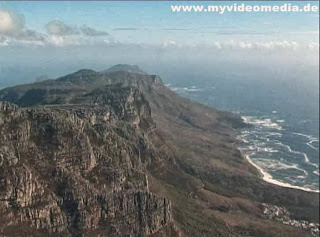 View from Table Mountain Cape Town to Cape of Good Hope
