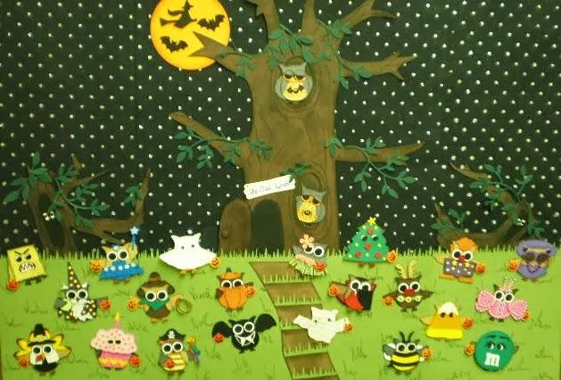Owloween Poster