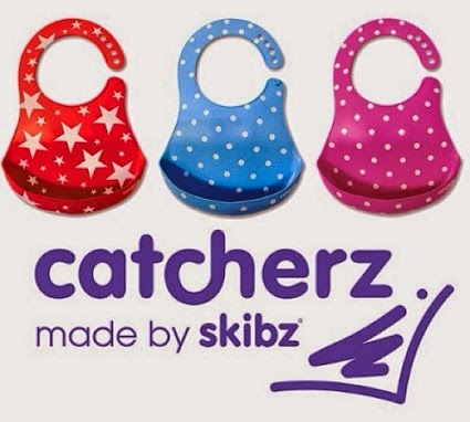 Brand New Catcherz Bibs By Skibz. Rockstar Red, Bubble Blue, Popping Pink