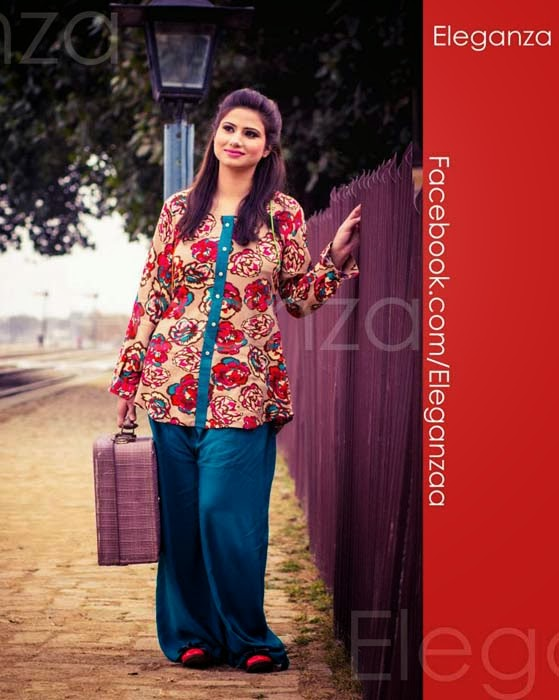 Eleganza New Spring Summer Collection 2014 For Women