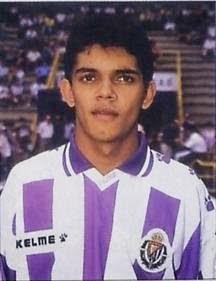 F tbol catracho amado guevara el fichaje estrellado del real valladolid en 1995 - Fotos del real valladolid ...